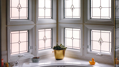 The Bathroom Is One Of The Most Useful Places In Your Home To Add Stained  Or Leaded Glass Windows. Because The Bathroom Is Such A Private Place Our  Nature ...
