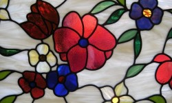 Salt Lake City Stained Glass floral