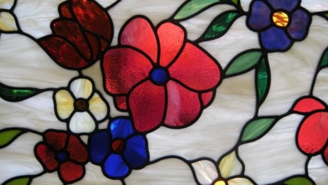 Custom Floral Stained Glass Designs To Complement Your Homes Windows