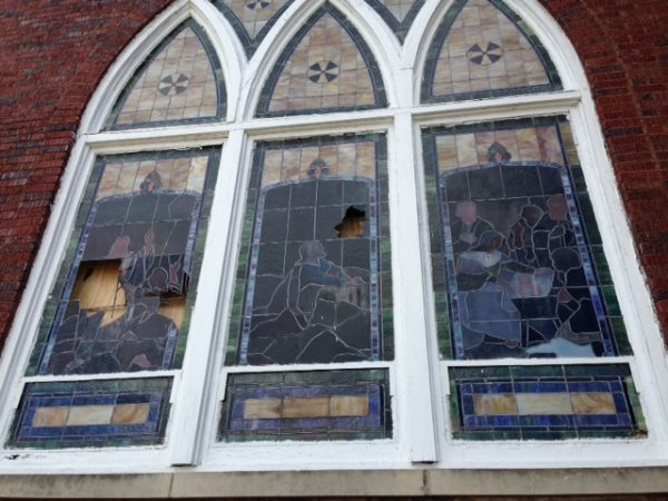 Religious Stained Glass Restoration Repair Salt Lake City