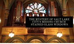 salt lake city church stained glass