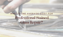 cost professional stained glass repair